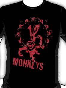 twelve monkeys 12 T-Shirt
