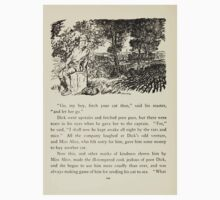 English Fairy Tales by Flora Annie Webster Steel art Arthur Rackham 1922 0306 Dick Finds no Gold Paved London Streets Kids Tee