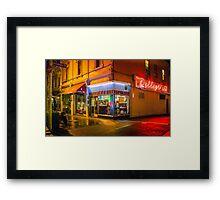 Pellegrinis Espresso Bar Framed Print