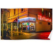 Pellegrinis Espresso Bar Poster