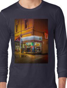 Pellegrinis Espresso Bar Long Sleeve T-Shirt