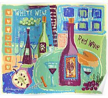 The Love Of Wine Poster