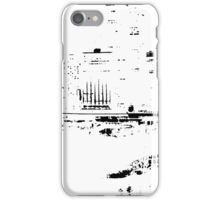 Circular Quay City Skyline Black Silhouette iPhone Case/Skin
