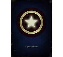 Captain America Photographic Print
