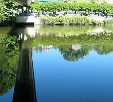 Bridge reflection, S.Pedro do Sul, Portugal by Erika Ribeiro