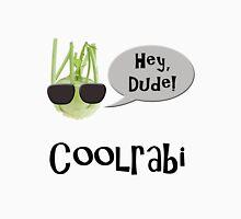 Cool rabi, kohlrabi, bad joke. Womens Fitted T-Shirt