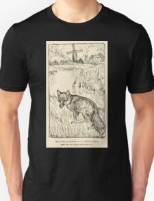 Snowdrop & Other Tales by Jacob Grimm art Arthur Rackham 1920 0183 Fox Gentleman with Red Breaches T-Shirt