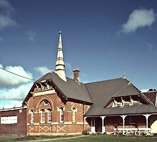 19860619 Old primary school Clunes by Fred Mitchell