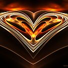 Burning Desire by Sandra Bauser Digital Art
