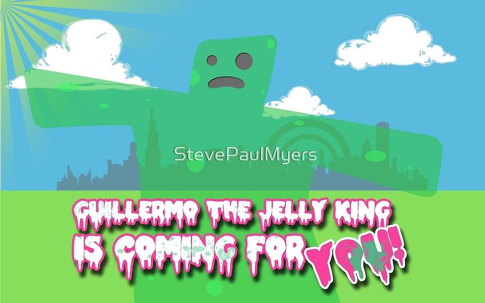 Guillermo the Jelly King! by StevePaulMyers