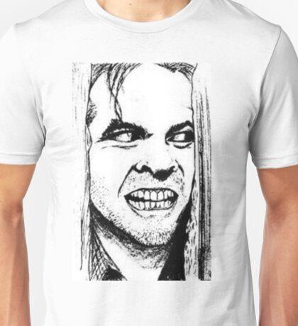 Heeeere's Johnny Unisex T-Shirt