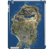 GTA V MAP iPad Case/Skin