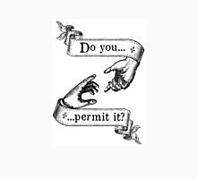 Do You Permit It? Womens Fitted T-Shirt