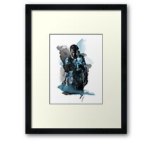 Uncharted 4 - Nathan Drake Design Framed Print