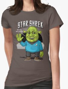 Star Shrek Womens Fitted T-Shirt