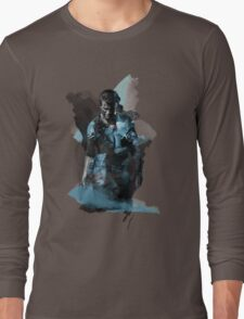 Uncharted 4 - Nathan Drake Design Long Sleeve T-Shirt