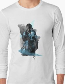 Uncharted 4 - Nathan Drake Design Long Sleeve T-Shirt