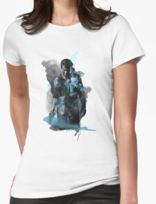 Uncharted 4 - Nathan Drake Design Womens Fitted T-Shirt