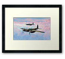 De Havilland Mosquitos Framed Print