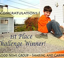Sharing & Caring 1st Place Challenge Banner by Iva Penner