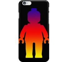 Minifig [Large Rainbow 2]  iPhone Case/Skin