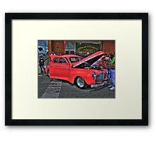 The Getaway Vehicle Framed Print