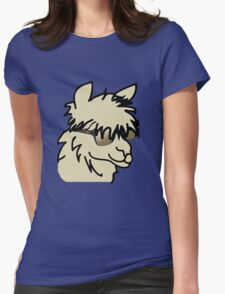 Party Alpaca Womens Fitted T-Shirt