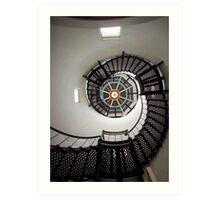Up, Up towards the light Art Print