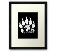 Bear Print Framed Print