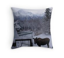Molded Water Throw Pillow