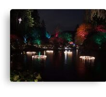 Night in the Sunken Garden (5) Canvas Print