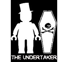 """THE UNDERTAKER""  Photographic Print"