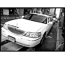 Uptown Limousine Photographic Print