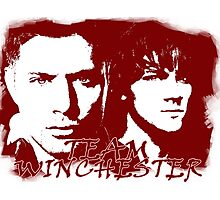 Team Winchester Photographic Print