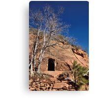 a room in the redrock Canvas Print