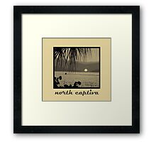 north captiva Framed Print