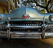 Vintage Mercury in the French Quarter of New Orleans by Yves Rubin