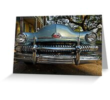 Vintage Mercury in the French Quarter of New Orleans Greeting Card
