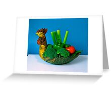 Healthy Food! Greeting Card