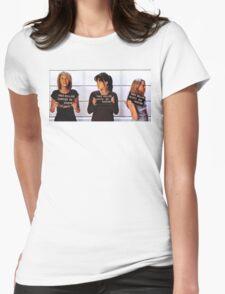 Breyley Jail Birds Womens Fitted T-Shirt