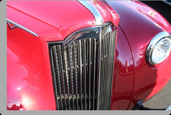 """""""1941 Packard"""" by Lynn Bawden"""