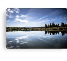 Lake Reflection in Jackson Hole Canvas Print