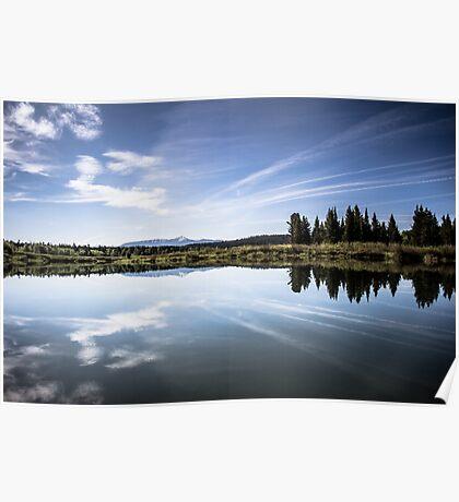 Lake Reflection in Jackson Hole Poster