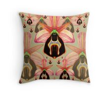 Ophrys lesbis Throw Pillow
