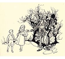The Zankiwank & the Bletherwitch by Shafto Justin Adair Fitz Gerald art Arthur Rackham 1896 0181 A Sort of Skeleton Photographic Print