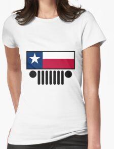 Jeep Wrangler Texas Flag T-Shirt