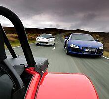 Caterham, Audi and Lotus .... by M-Pics