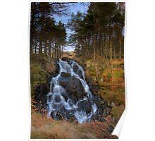 Moel Siabod waterfall Poster
