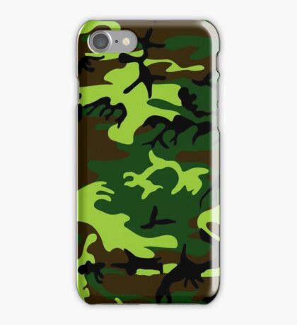 Camouflage (jungle green) ~ iPhone Case/Skin