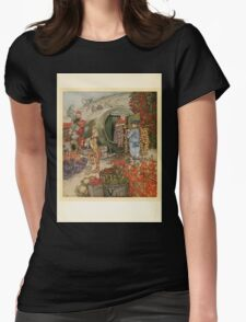 English Fairy Tales by Flora Annie Webster Steel art Arthur Rackham 1922 0008 Piccalilli Cottage Womens Fitted T-Shirt